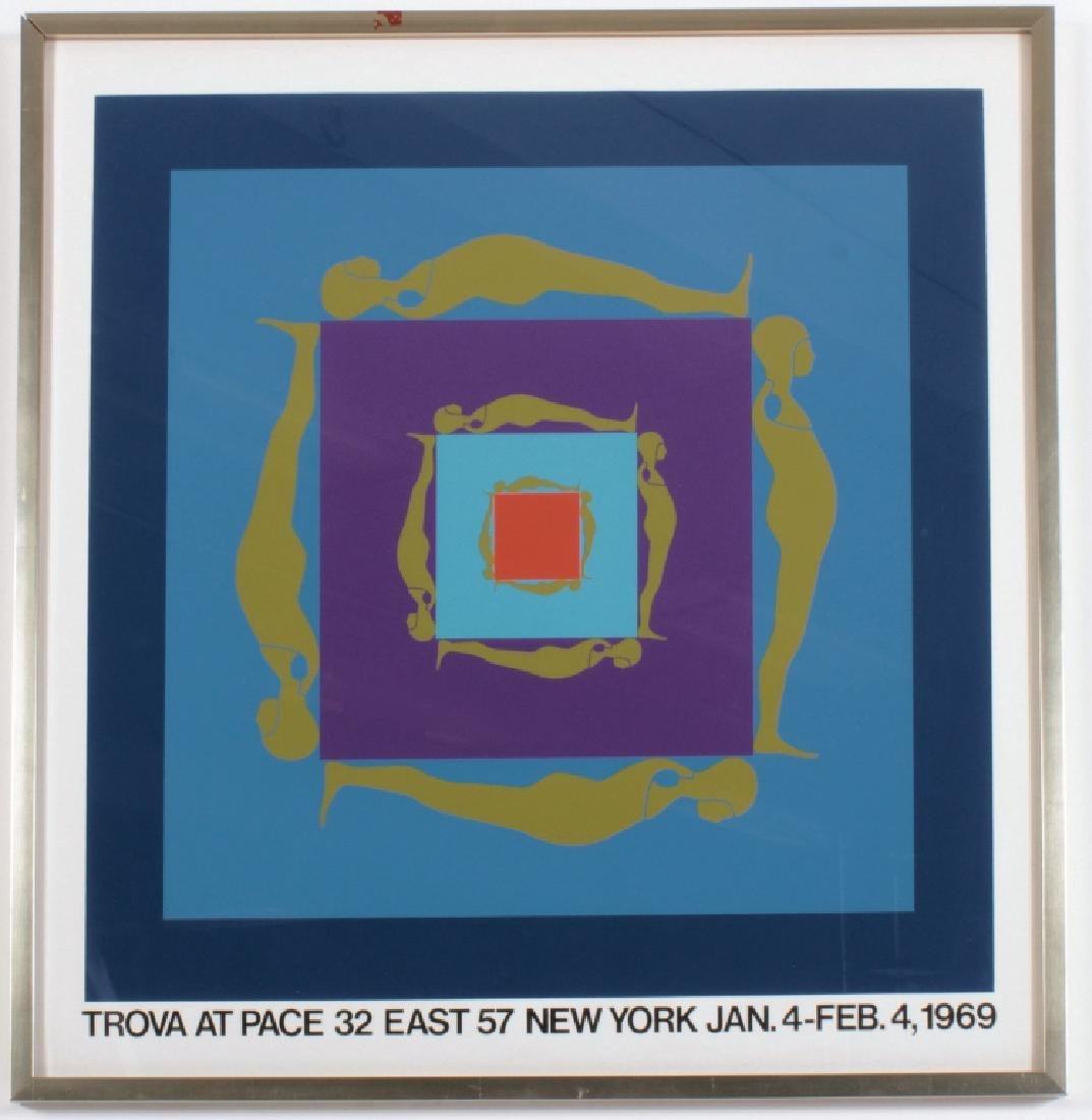 Ernest Trova, Pace Gallery 1969 Poster