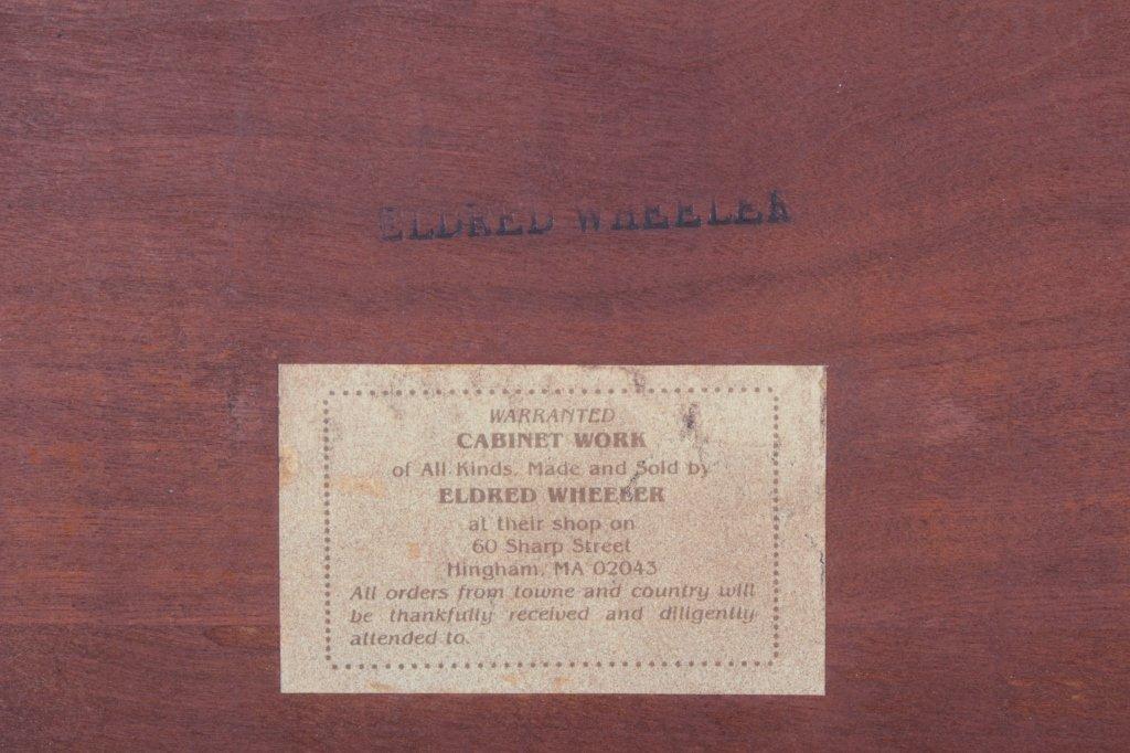 Eldred Wheeler Cherry 4 Poster Queen Bed - 7