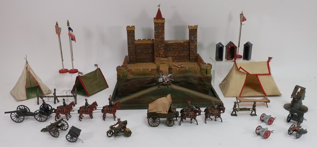 Toy Castle and Soldiers, inc. Johillco