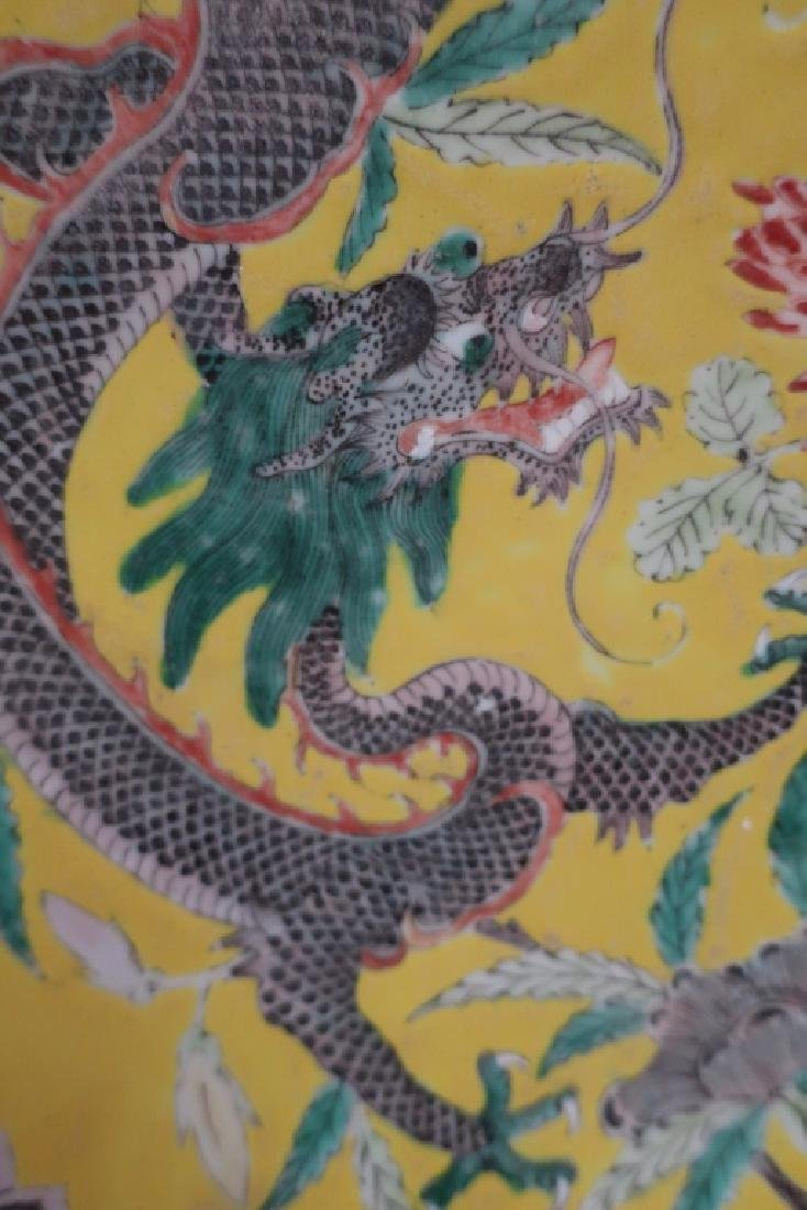 Chinese Porcelain Large Charger, 19th c. - 3
