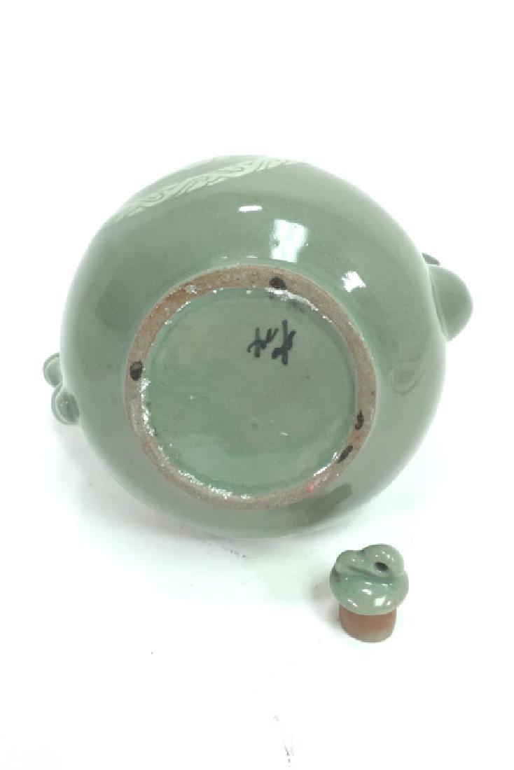 Shin Sang Ho, Kor., 20th C., Ceramic Ewer - 5