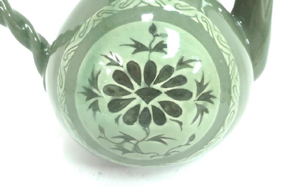 Shin Sang Ho, Kor., 20th C., Ceramic Ewer - 6