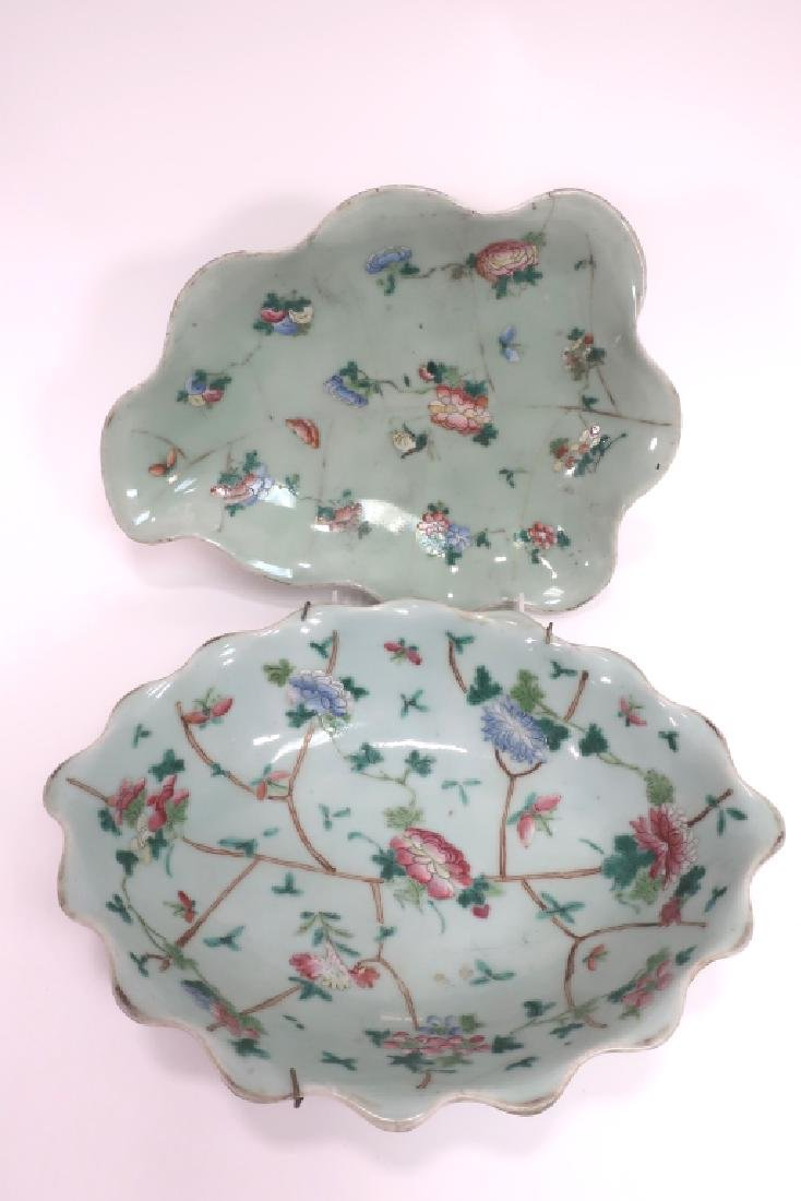 8 Chinese Porcelain Dishes, 19th c. - 2