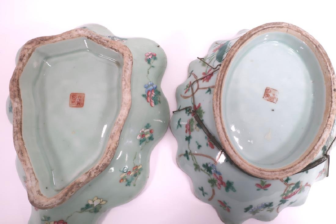 8 Chinese Porcelain Dishes, 19th c. - 6