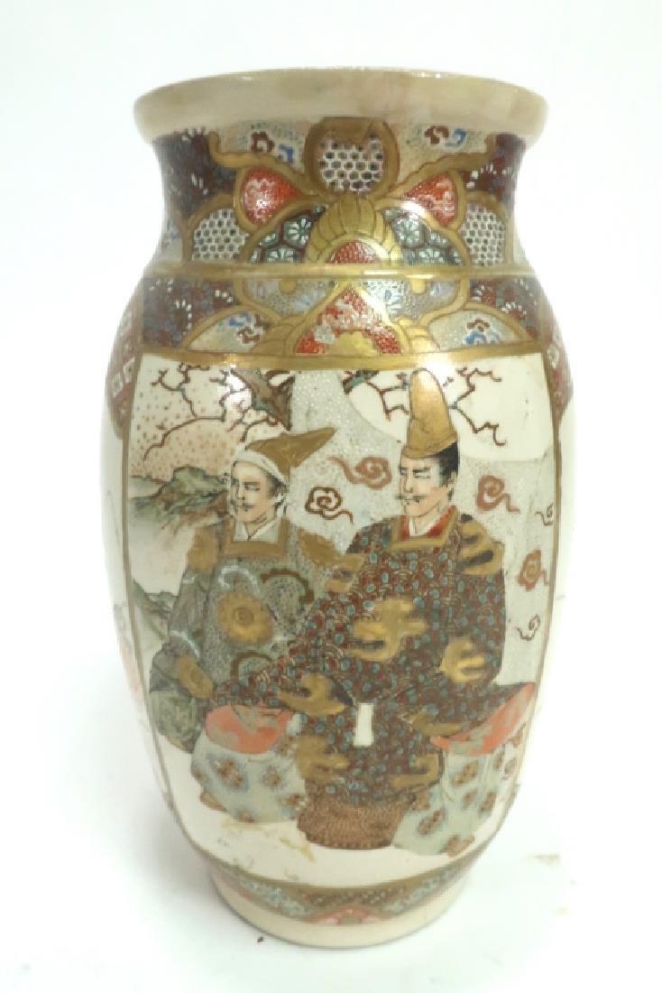 Group of 4: Satsuma Vases - 5