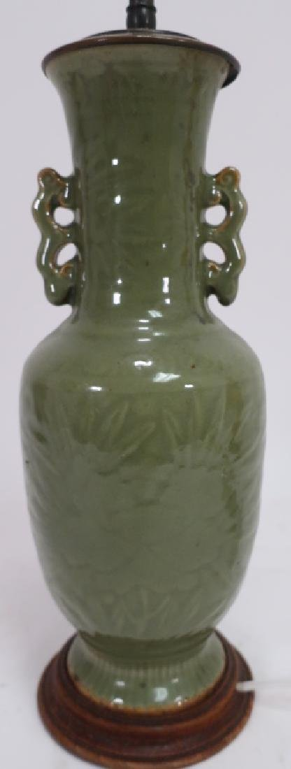 Two Chinese Vases as Lamps - 4