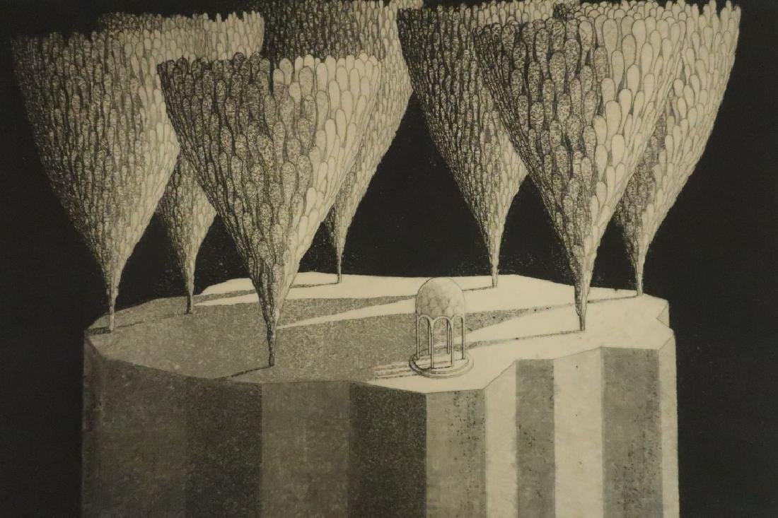 Shigeo Risho, Jap., 20th C., 6 Etchings