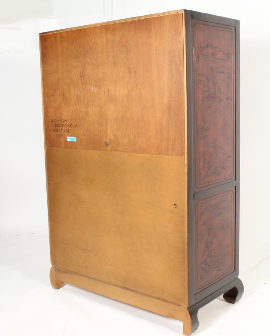 Drexel Asian Style Wardrobe Cabinet - 6