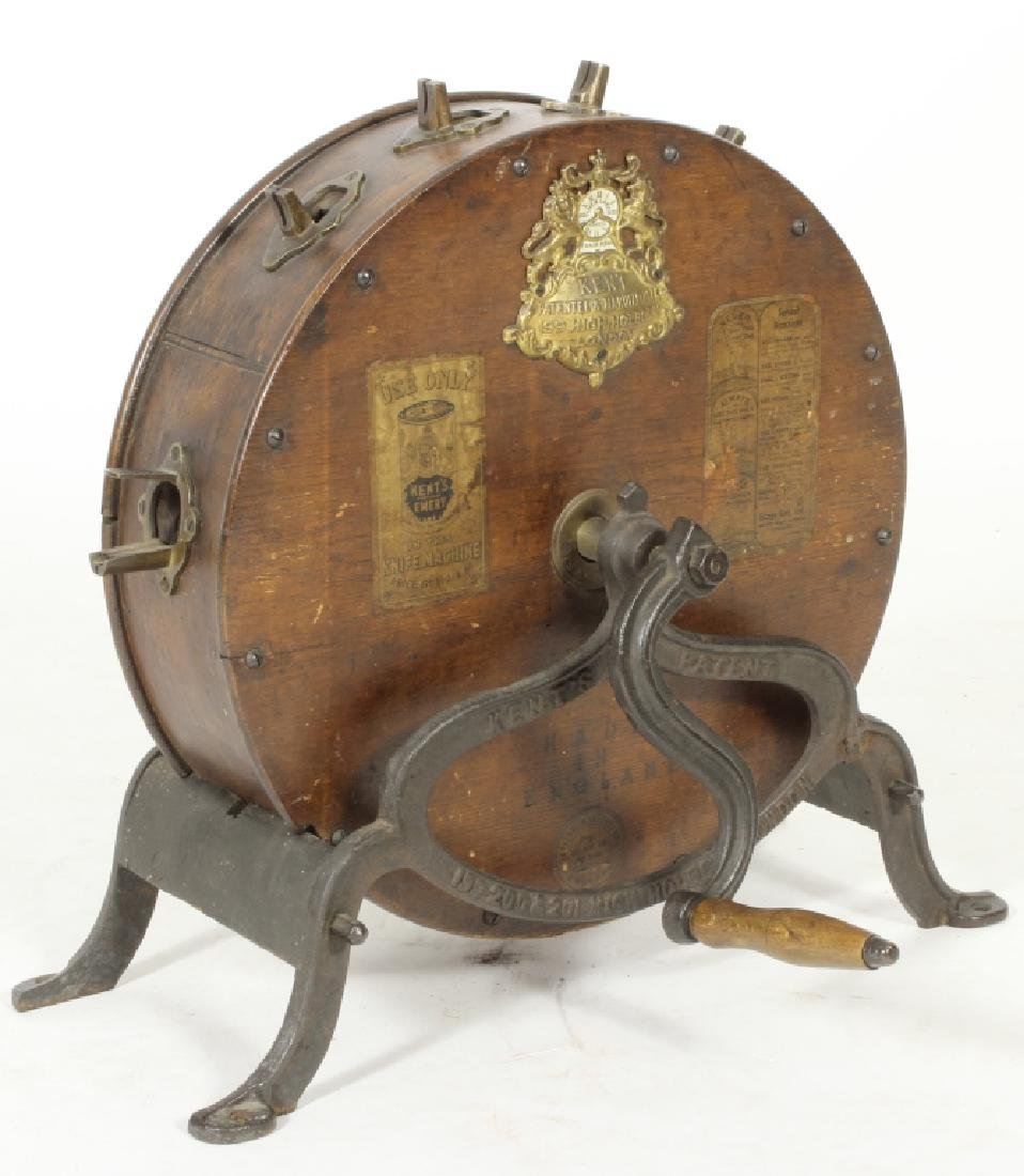 English Circular Mechanical Knife Cleaner c. 1900