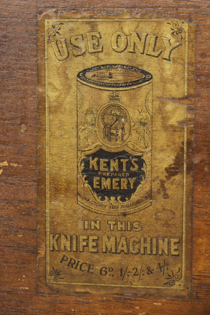 English Circular Mechanical Knife Cleaner c. 1900 - 6
