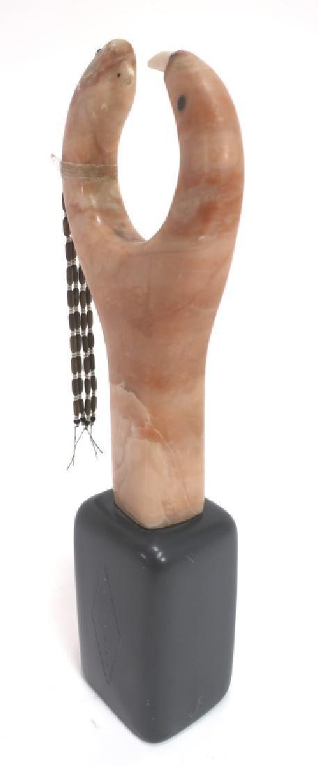 "SW Hardstone Sculpture, ""Newborn-Reborn Fetish' - 5"