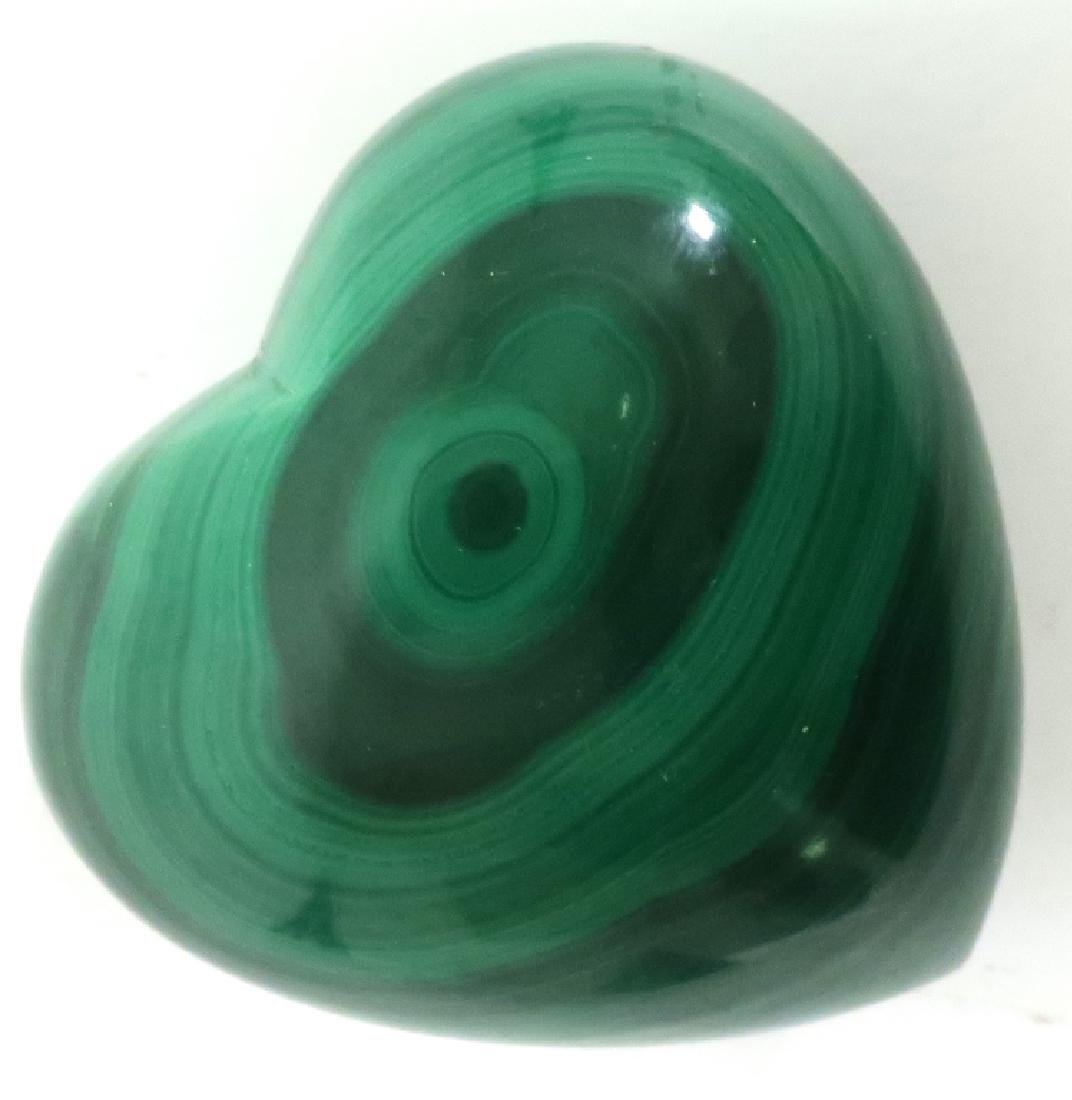 Lot of 4: Malachite Decorative Items - 4