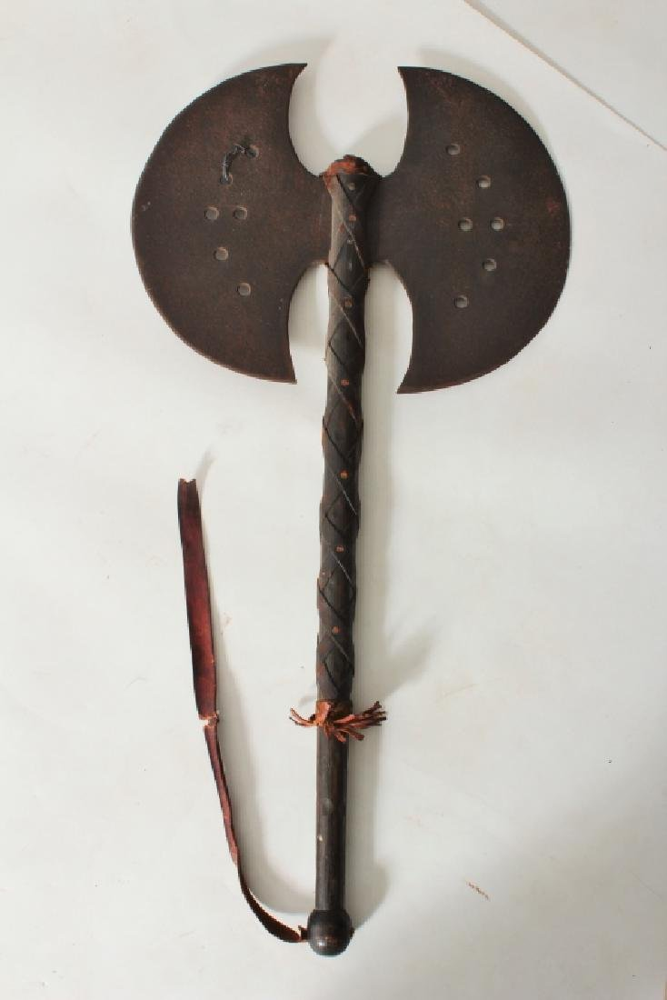 Reproduction Medieval Weapons 4 Axes & a Shield - 6
