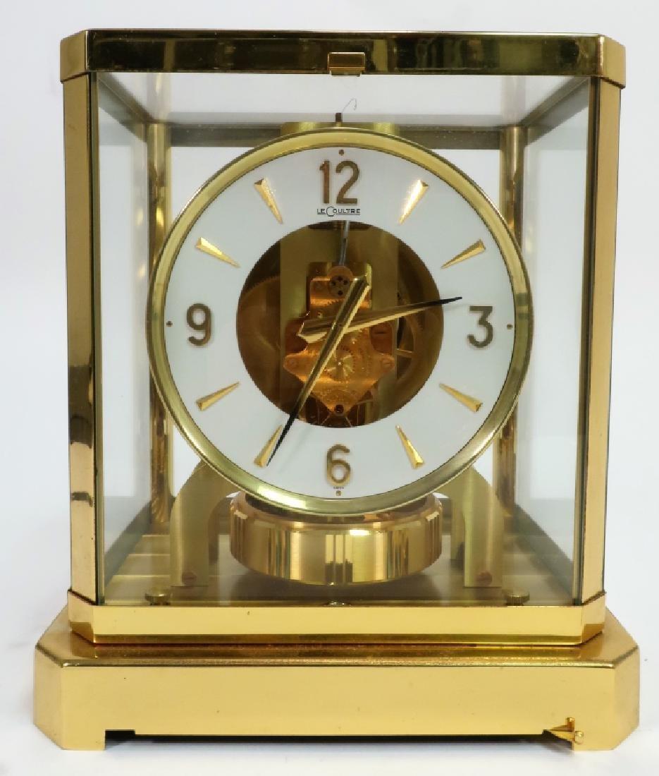 LeCoultre Atmos VIII Perpetual Motion Shelf Clock