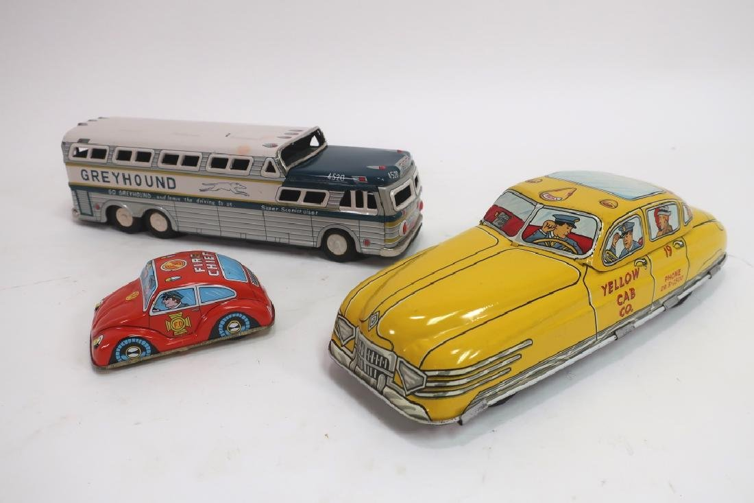 Lot of 8 Vintage Painted Tin Toys - 3