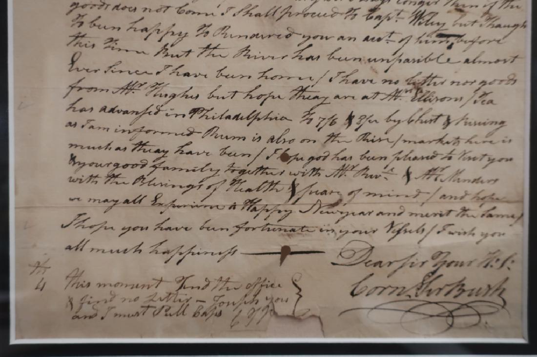 1782 Letter to Aaron Lopez, Newport & 1869 Bond - 8