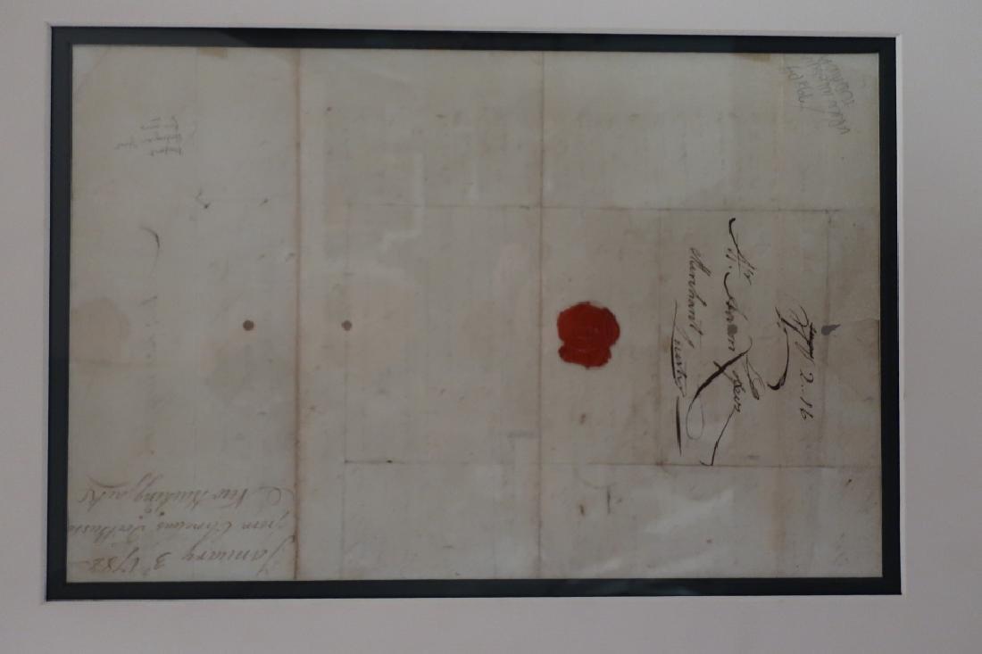 1782 Letter to Aaron Lopez, Newport & 1869 Bond - 9