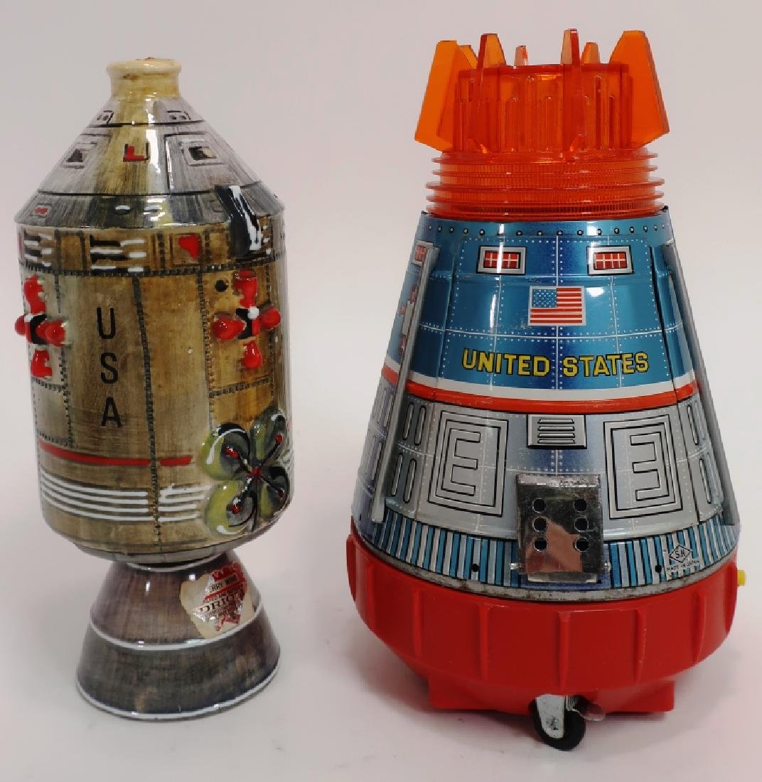 Vintage Apollo Space Toy & Capsule Decanter