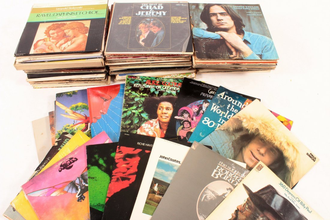 LP Lot, Rock, Jazz, Childrens, Classical Etc. - 4