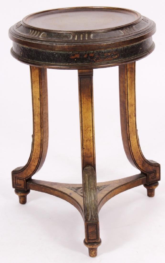 Art Nouveau Side Table Plant Stand Pedestal c 1900