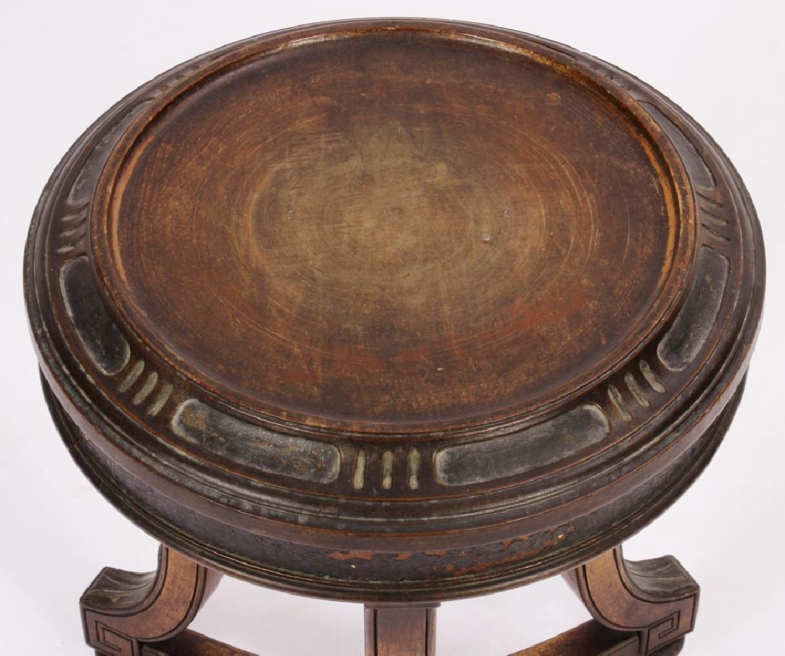 Art Nouveau Side Table Plant Stand Pedestal c 1900 - 2