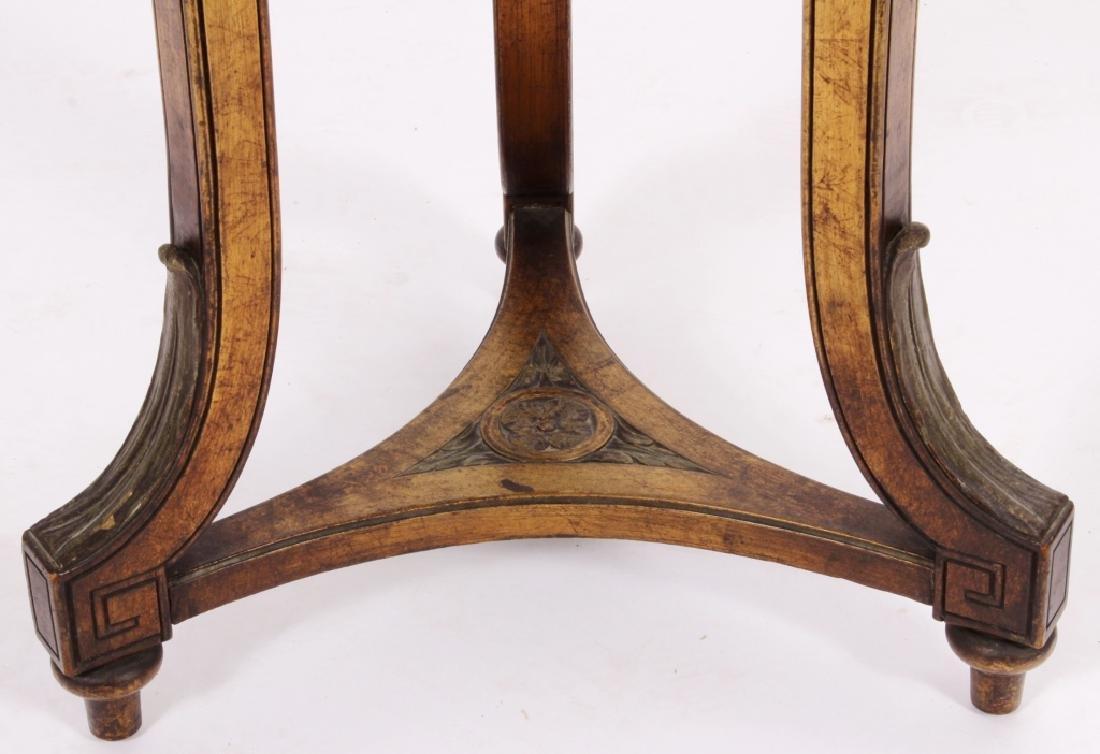 Art Nouveau Side Table Plant Stand Pedestal c 1900 - 3