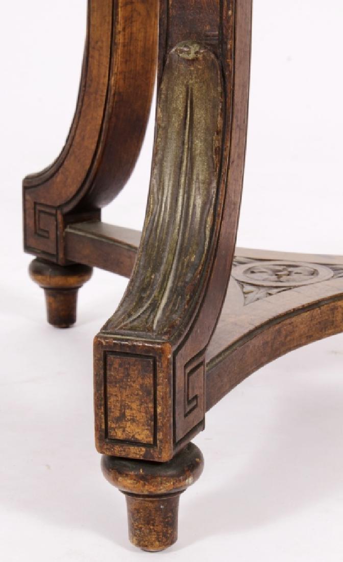 Art Nouveau Side Table Plant Stand Pedestal c 1900 - 4
