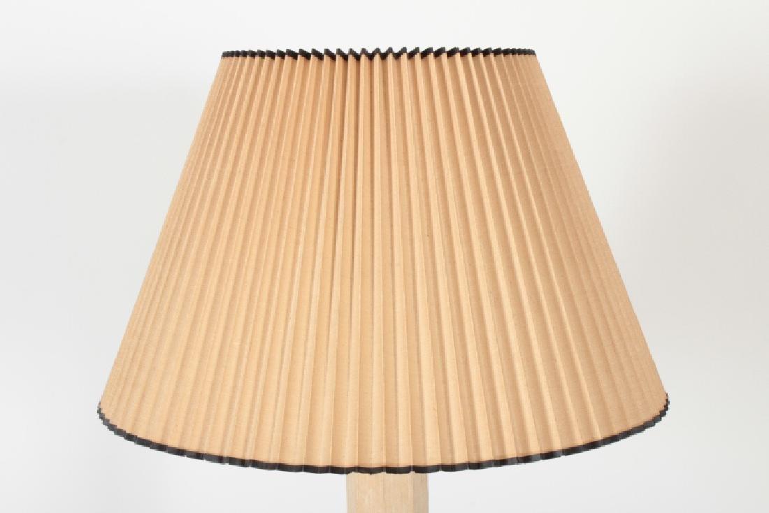 Possibly Karl Springer Standing Floor Lamp & Shade - 2