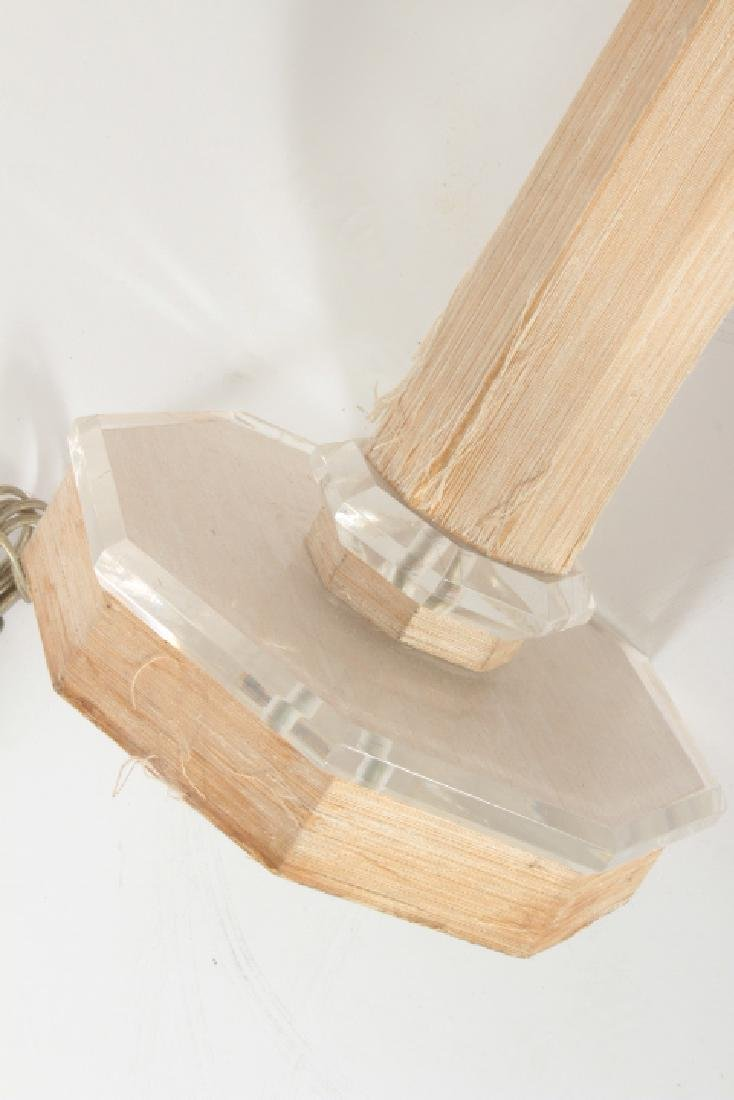 Possibly Karl Springer Standing Floor Lamp & Shade - 8