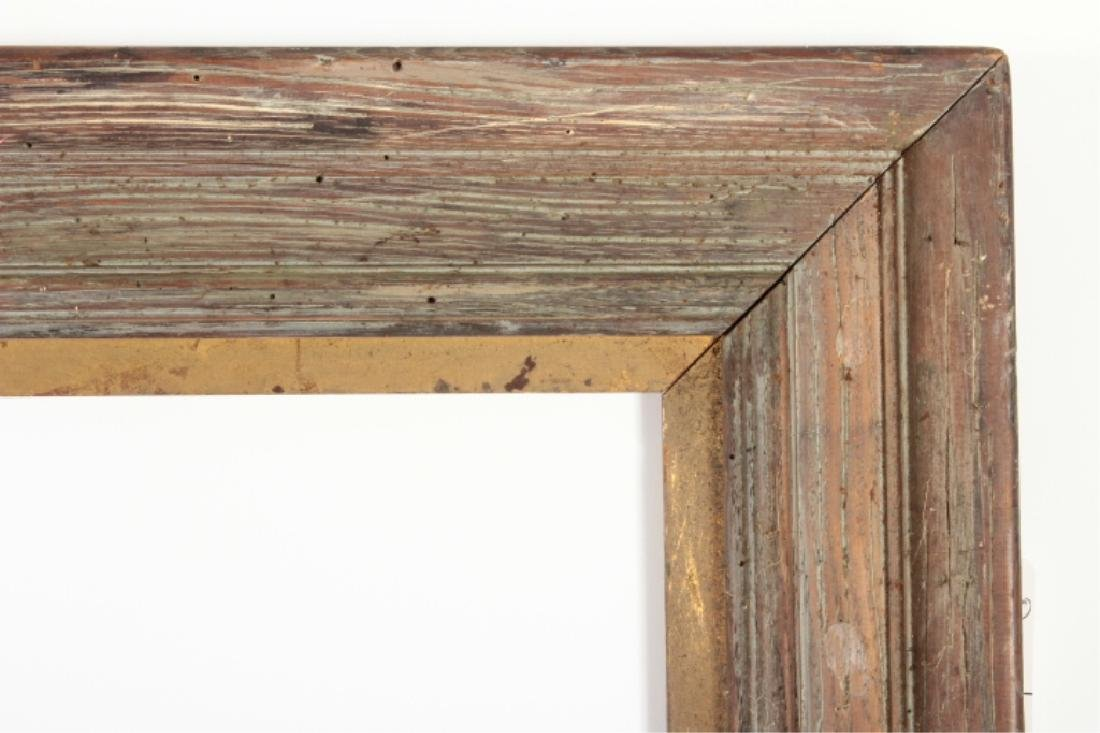 Large Rustic Presidential Picture Mirror Frame
