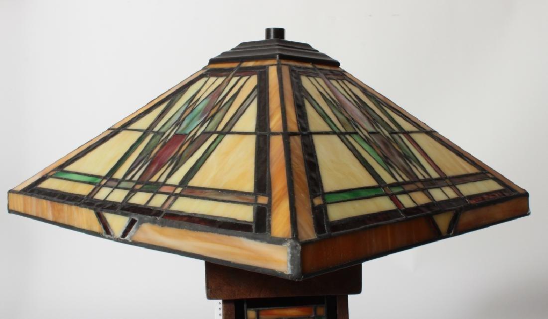 Frank Lloyd Wright Style Floor Lamp & Table Lamp - 5
