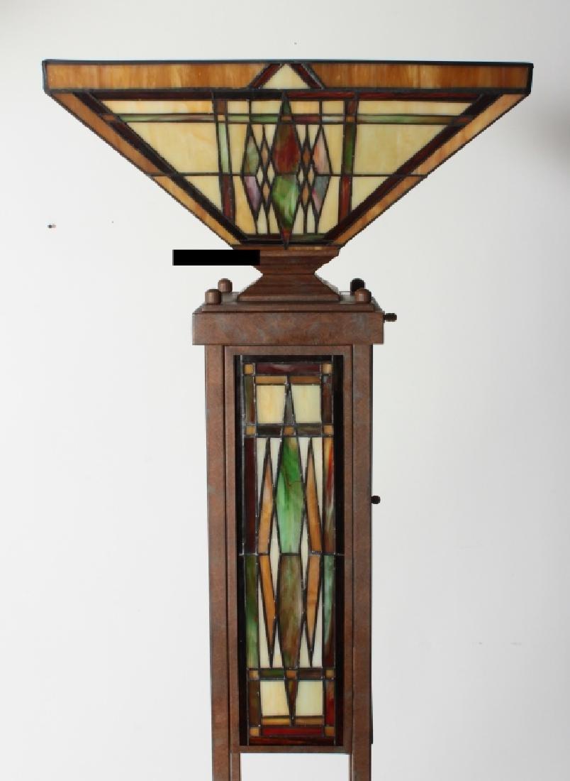 Frank Lloyd Wright Style Floor Lamp & Table Lamp - 6