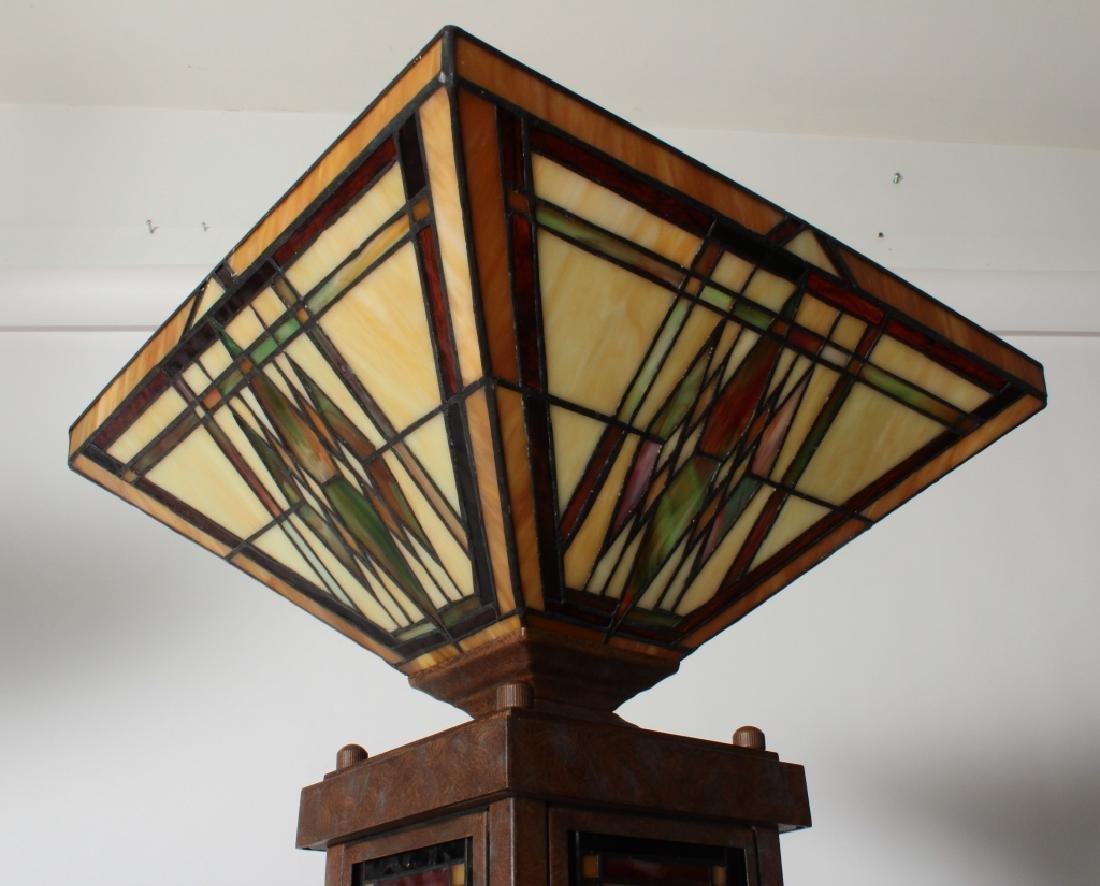 Frank Lloyd Wright Style Floor Lamp & Table Lamp - 7