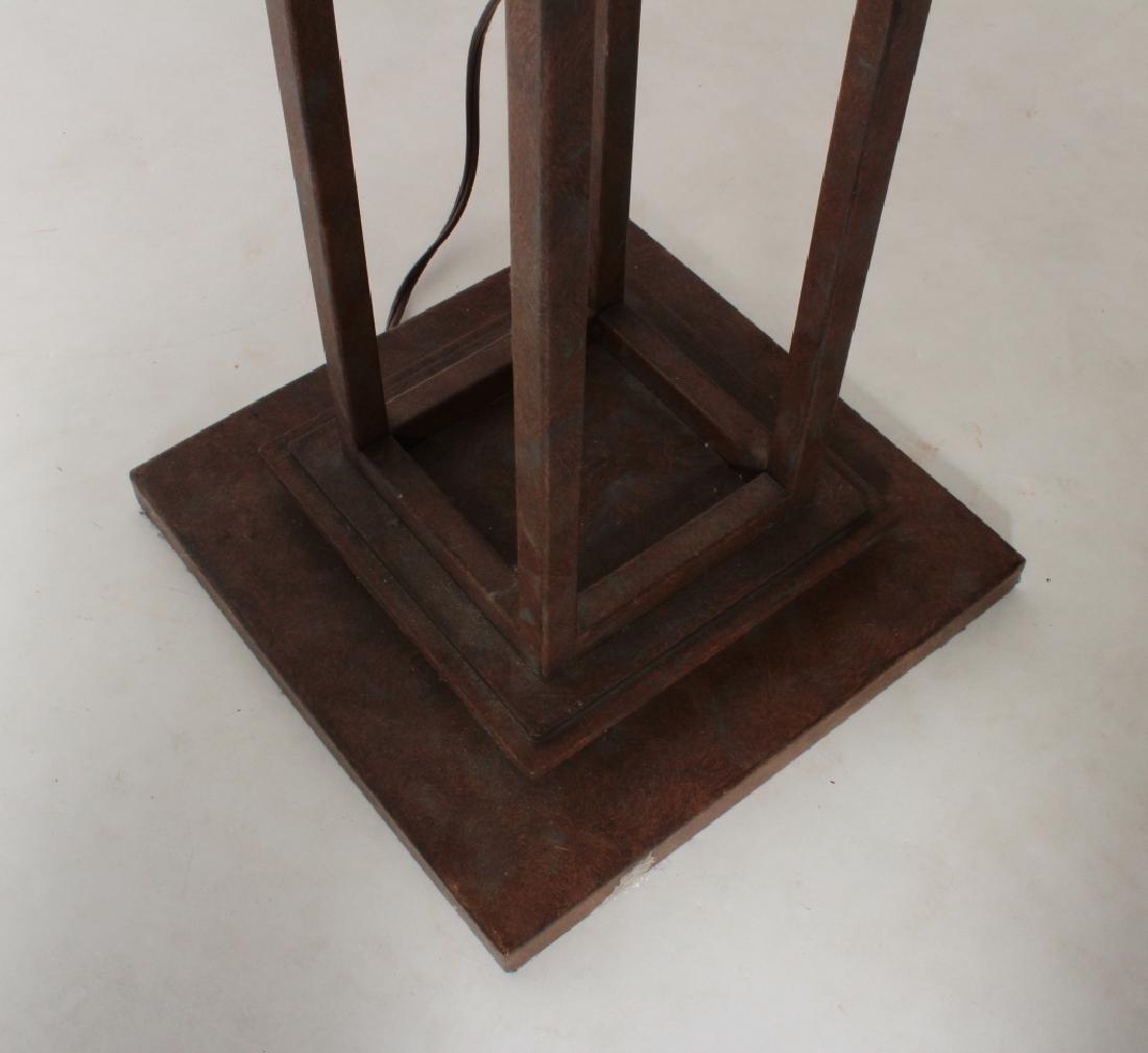 Frank Lloyd Wright Style Floor Lamp & Table Lamp - 9