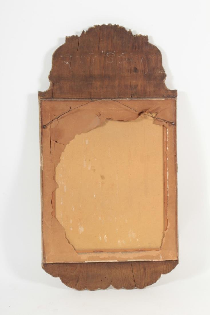 Baroque Style Wooden Rectangular Mirror - 6