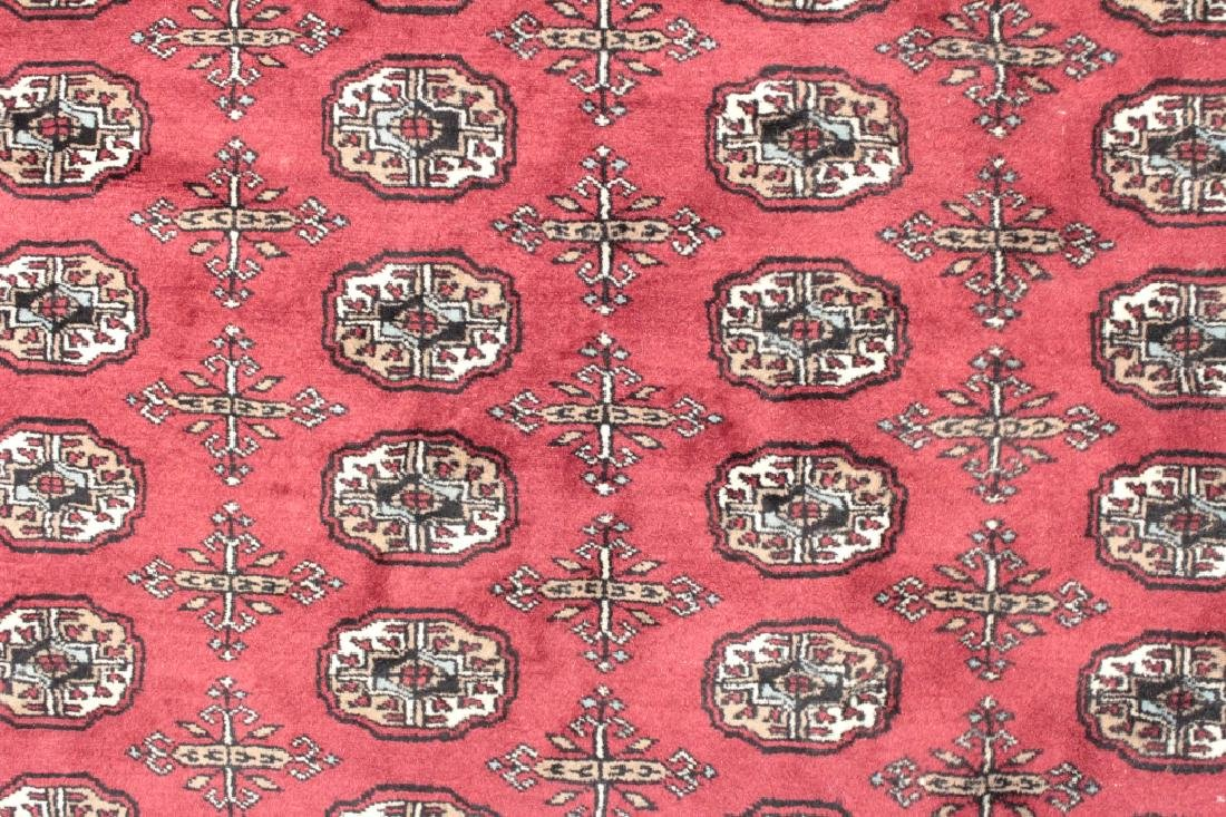 Bokhara Rug, Red & Turquoise
