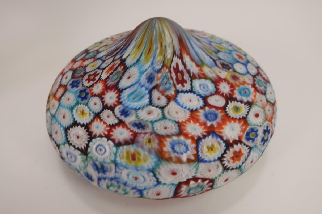 Italian Millefiori Table Mushroom Lamp - 4