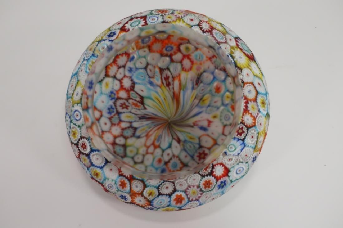 Italian Millefiori Table Mushroom Lamp - 5