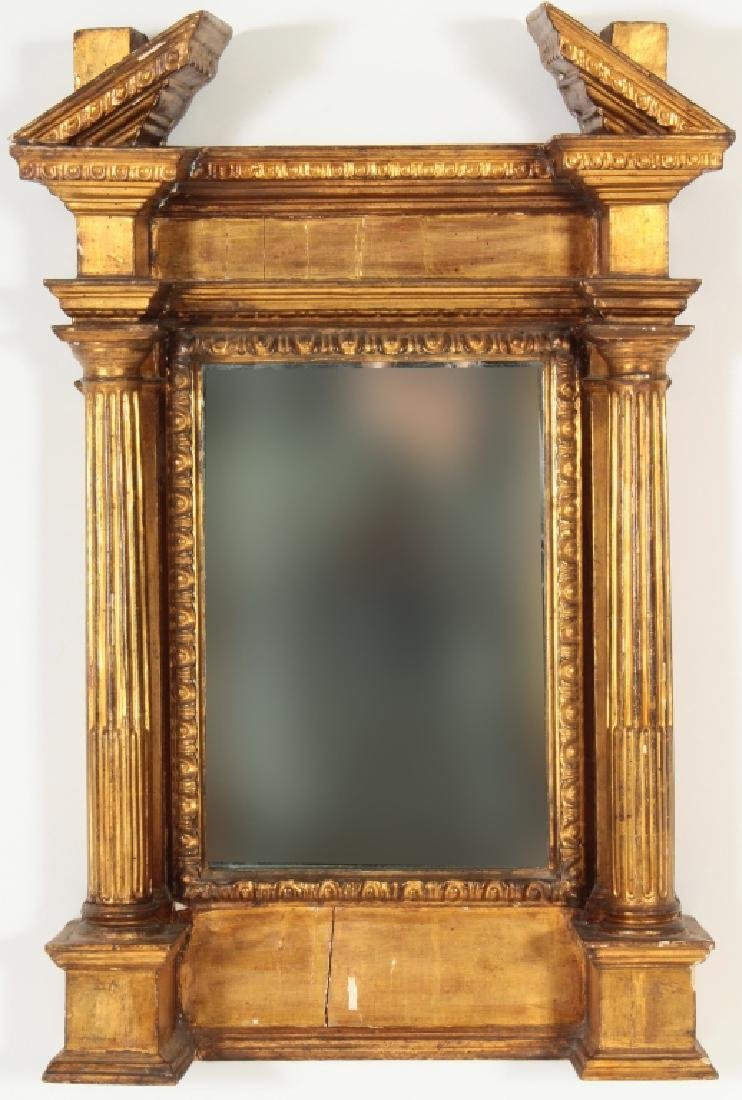 Renaissance Revival Gilt Wood Tabernacle Frame