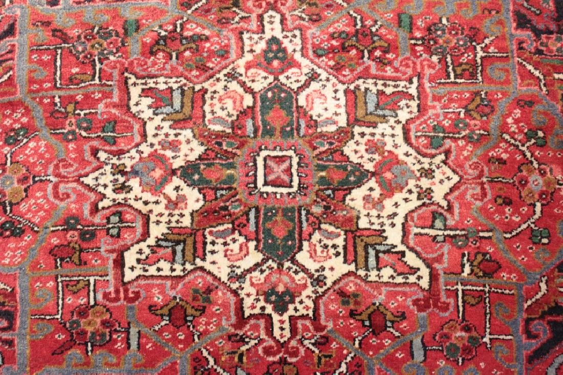 Heriz Carpet, Center Medallion
