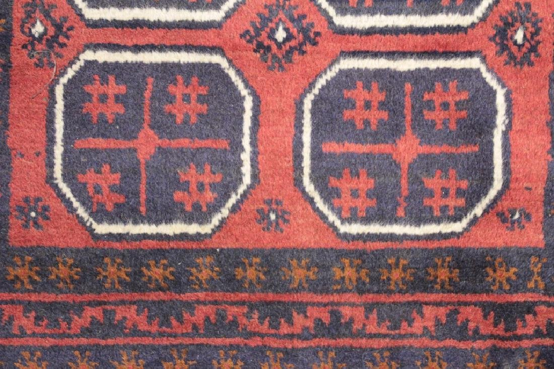 Two Oriental Rugs - Black & Red Grounds - 6