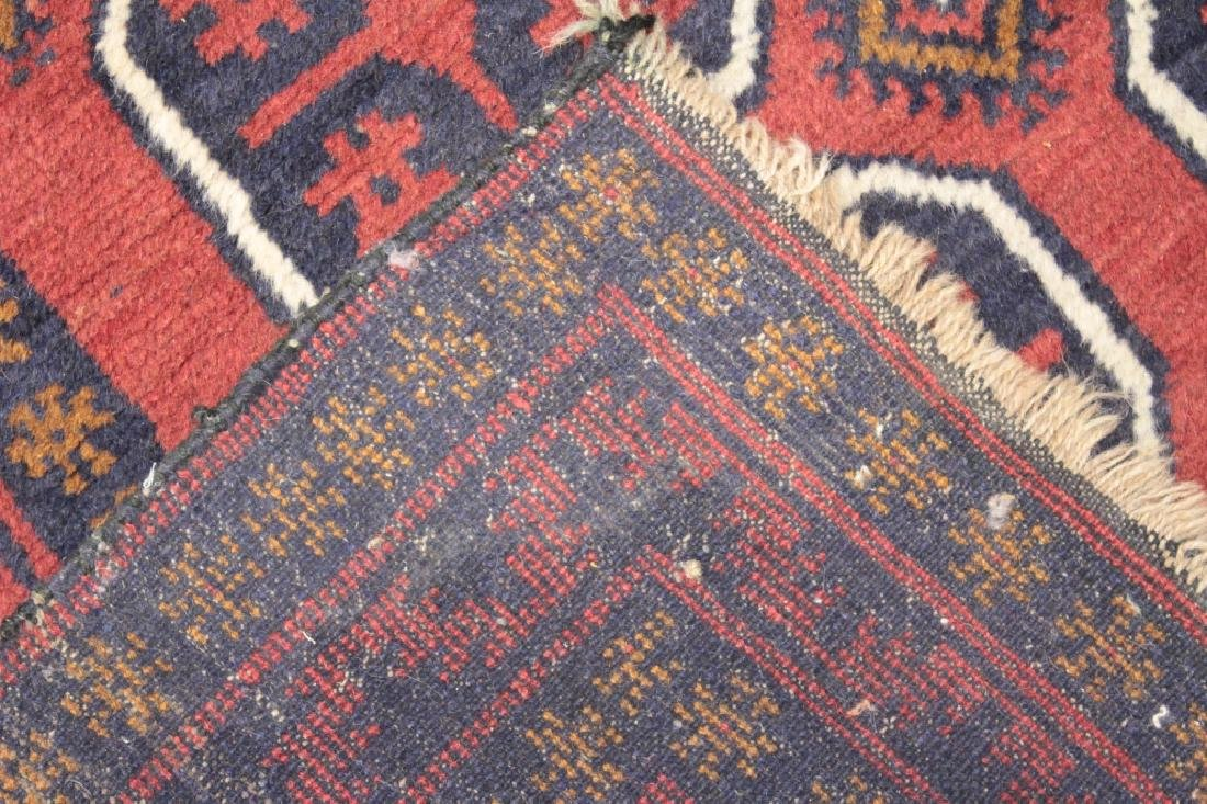 Two Oriental Rugs - Black & Red Grounds - 8