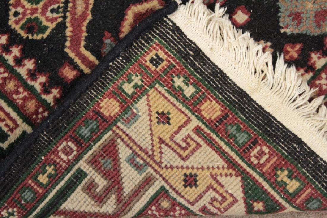 Two Oriental Rugs - Black & Red Grounds - 9