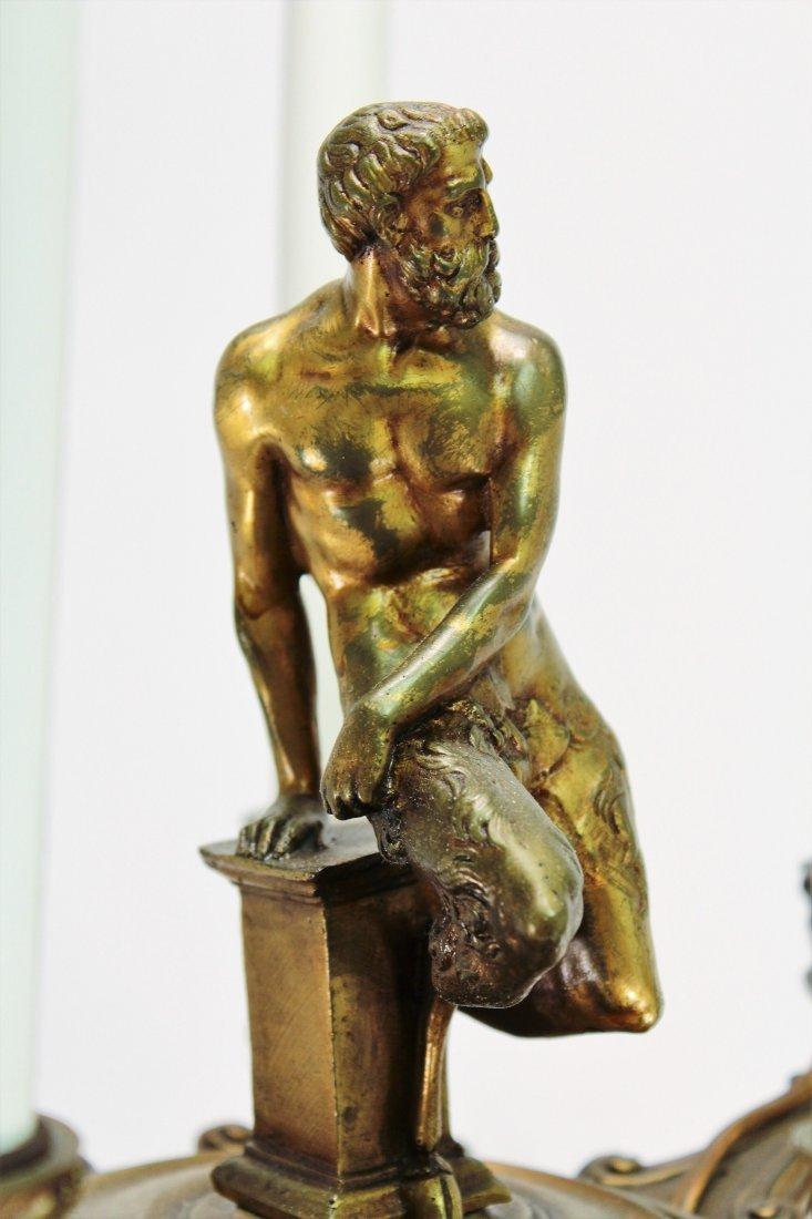 Limoges Vase as Large Bronze Mounted Lamp, c. 1870 - 3