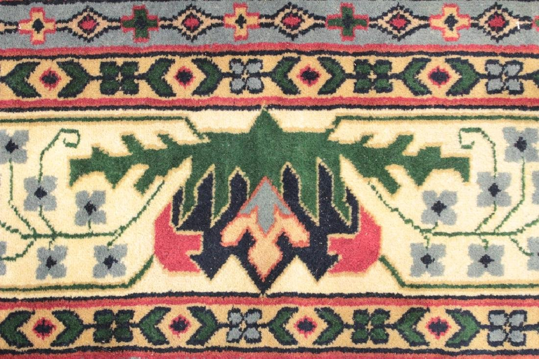 White Ground Hand Knotted Carpet - 4
