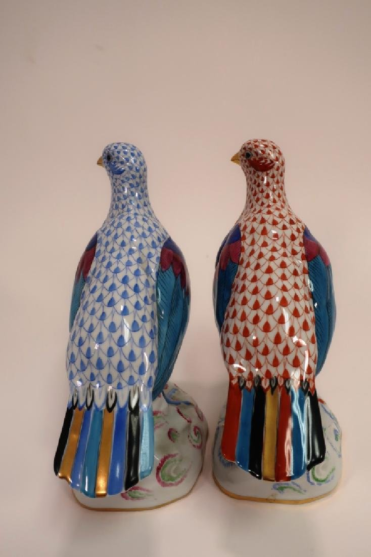 2 Herend Hand Painted Birds - 3