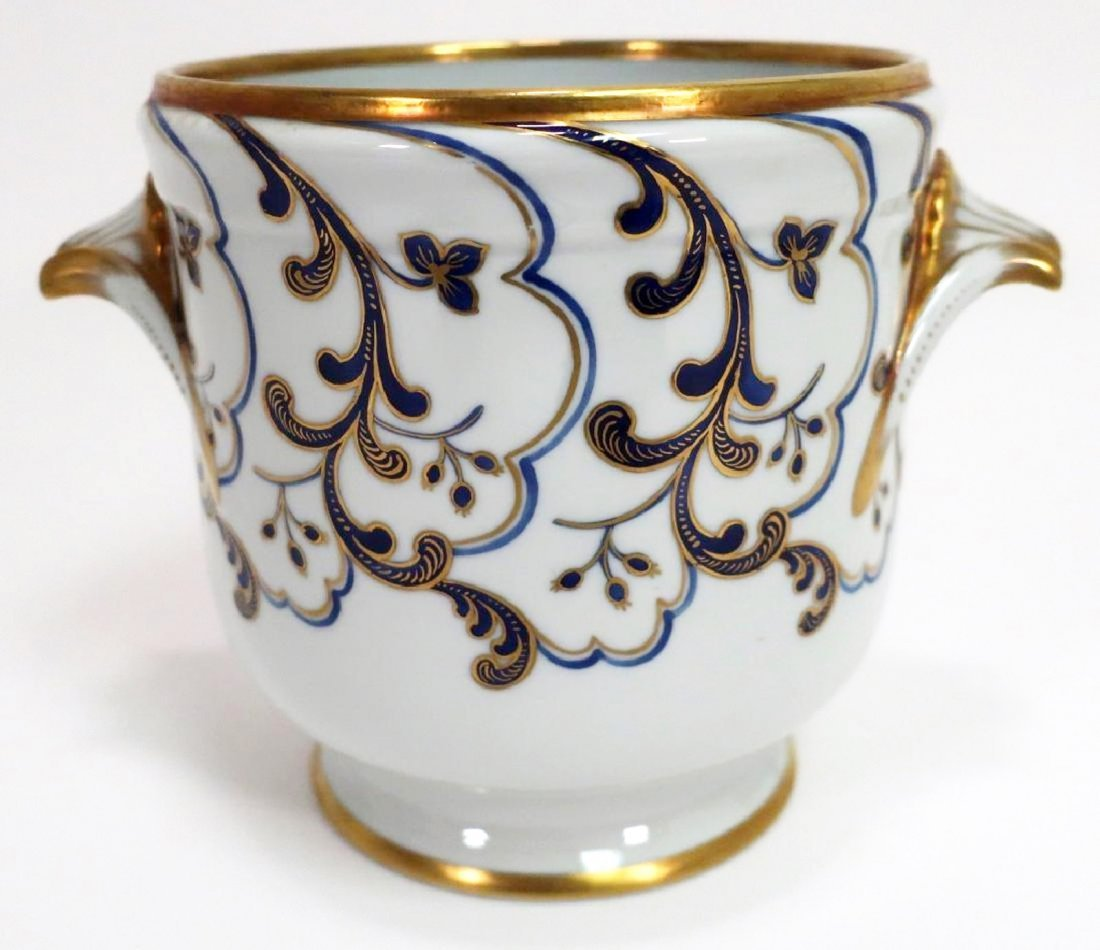 Tiffany Private Stock French Porcelain Cachepot