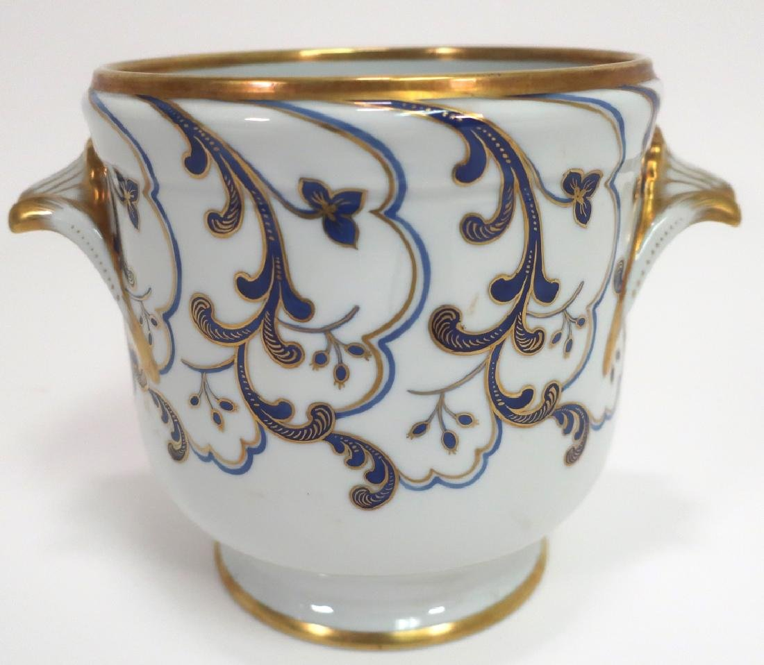 Tiffany Private Stock French Porcelain Cachepot - 3