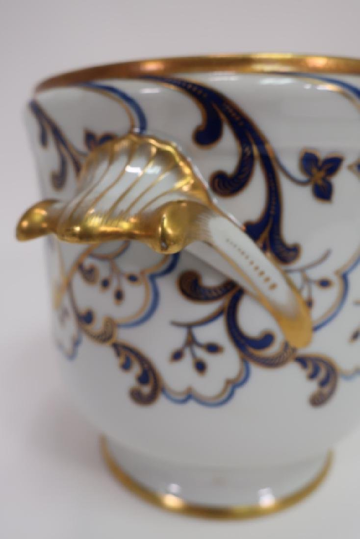 Tiffany Private Stock French Porcelain Cachepot - 5