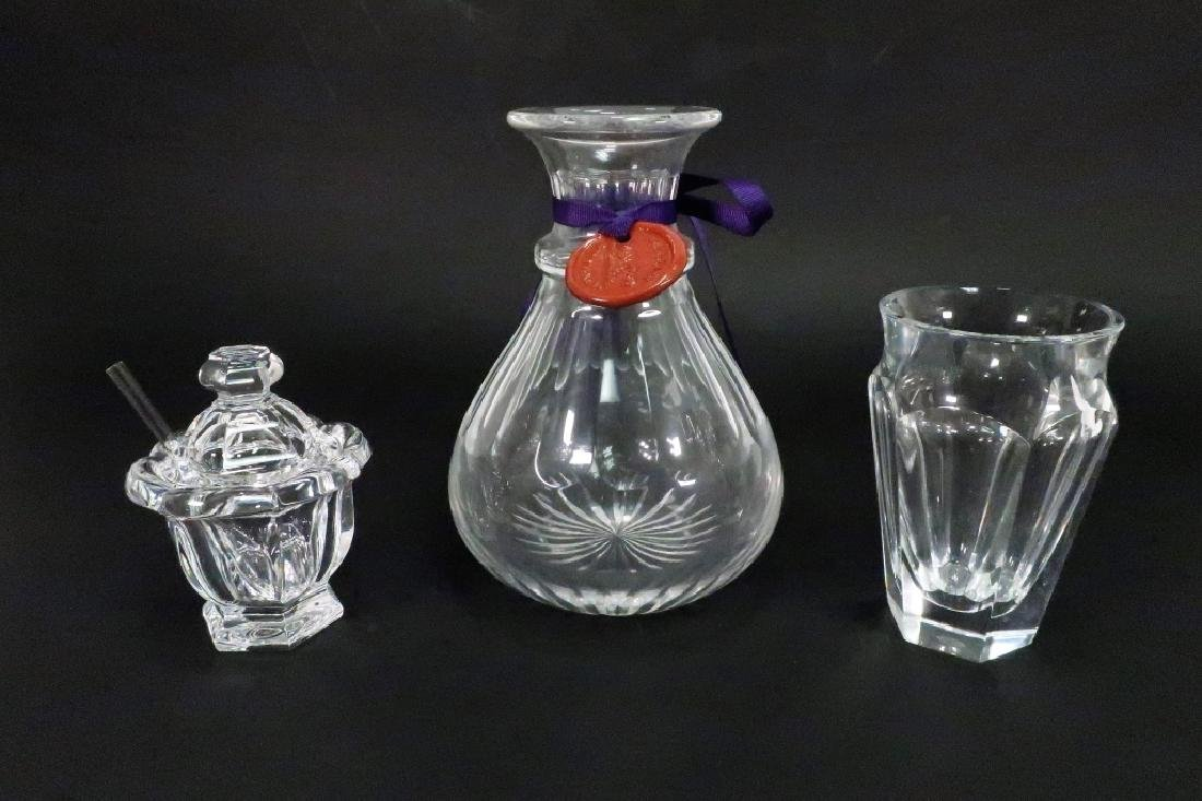 William Yeoward & Baccarat Crystal Pieces